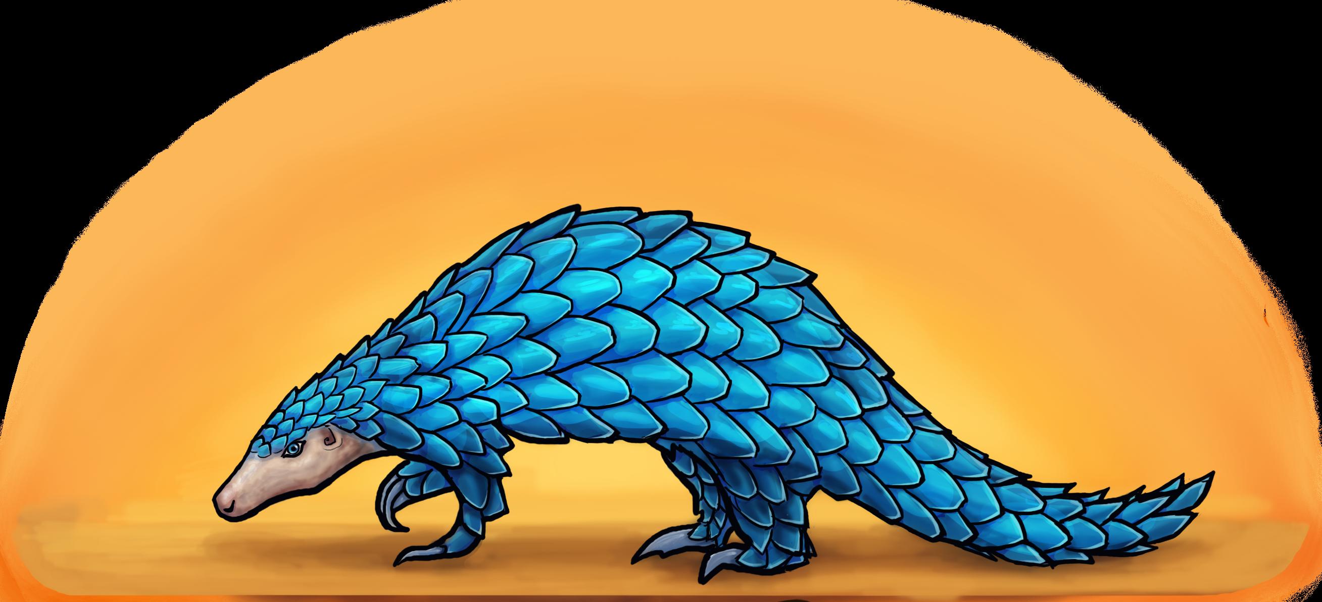 The Blue Pangolin